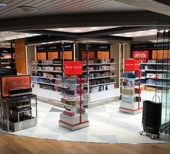 Baltona Tax Free poed Lennujaamas