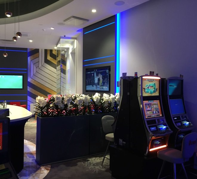 Olympic Casino ehitus